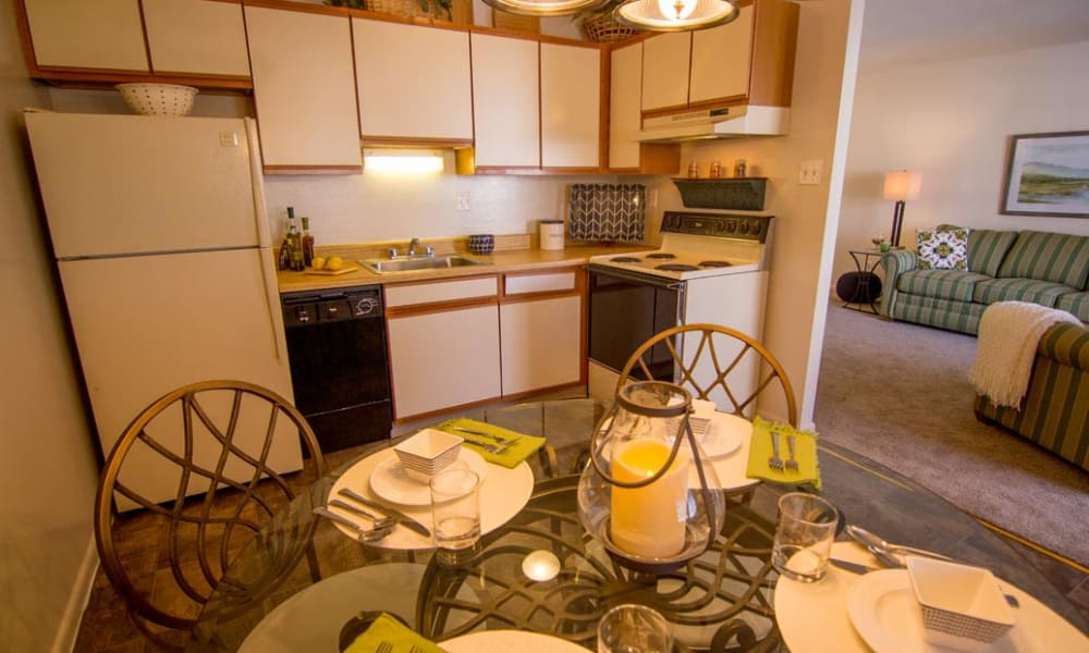 Open floor plans at Marchwood Apartment Homes in Exton, Pennsylvania.