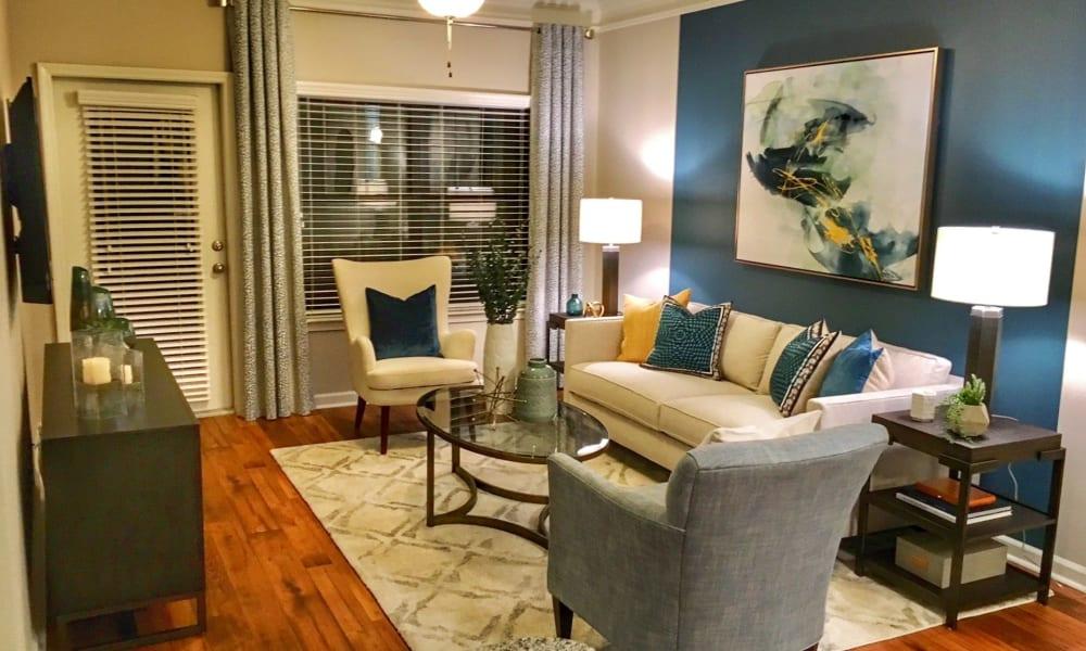 Living Room Area at Cahaba Grandview in Birmingham, Alabama