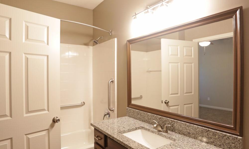 Bathroom Vanity at Cahaba Grandview in Birmingham, Alabama
