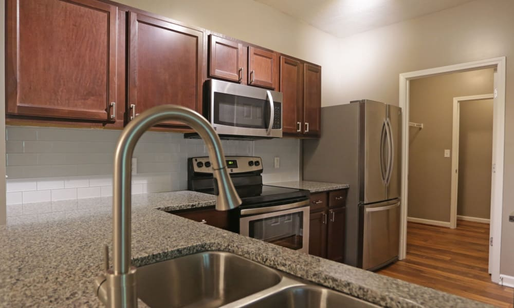 Kitchen Area at Cahaba Grandview in Birmingham, Alabama