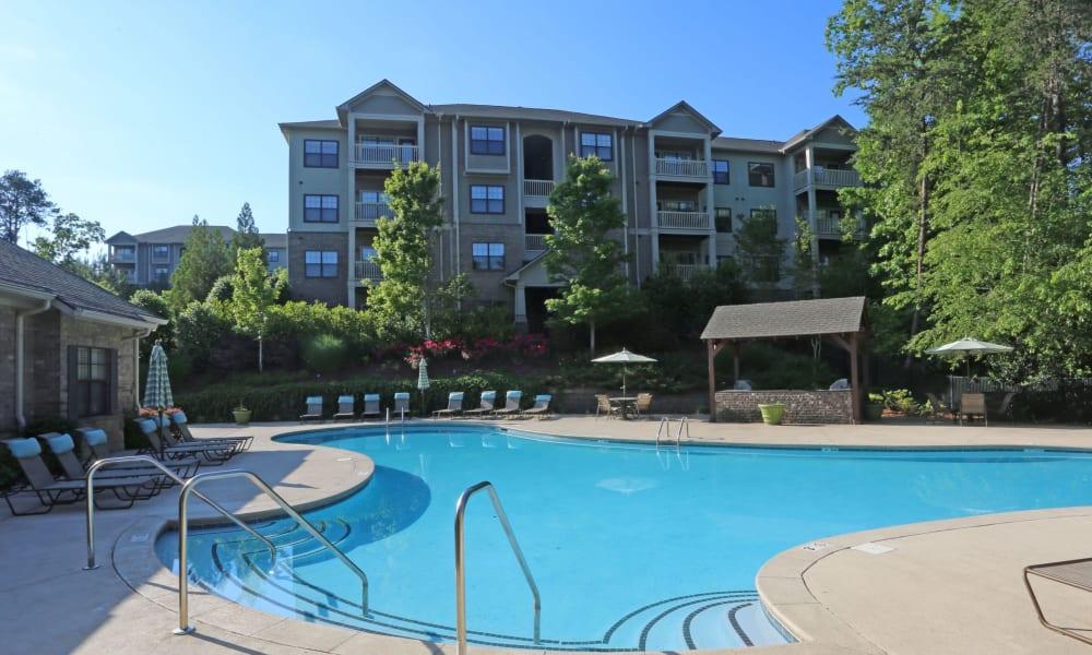Pool Area at Cahaba Grandview in Birmingham, Alabama