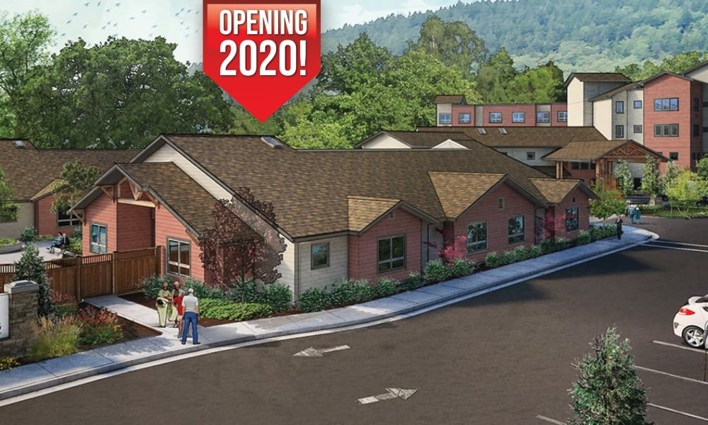 Rendering of The Landing a Senior Living Community in Roseburg, Oregon