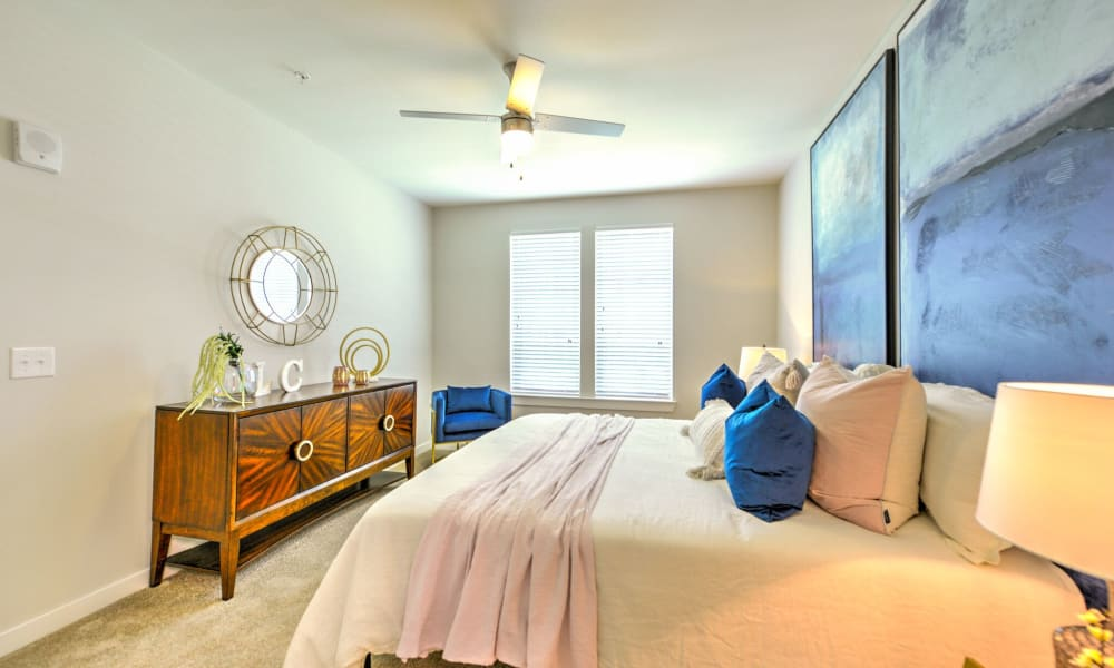Well lit Bedroom at Apartments in Jacksonville, Florida