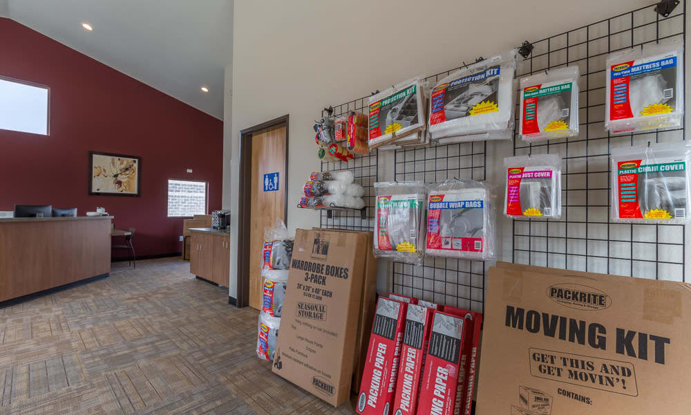 Shipping and packing supplies for sale at Mt. Hood Self Storage in Woodburn, Oregon