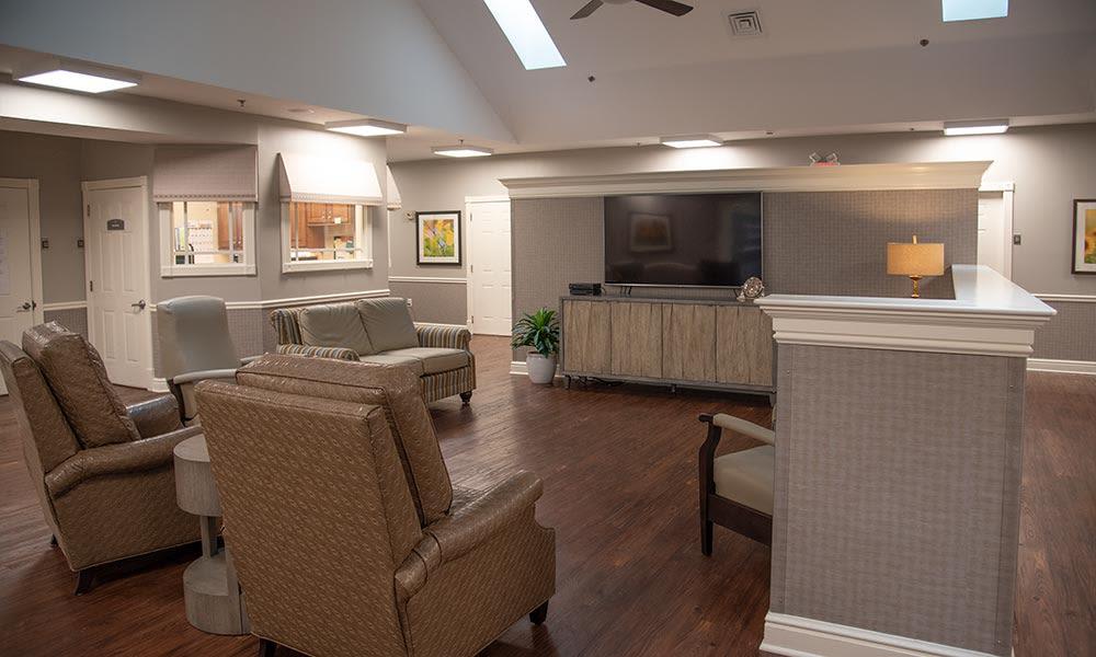 memory care living area