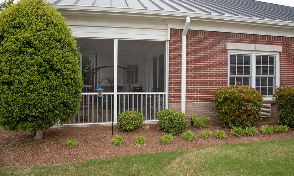 resident covered porch