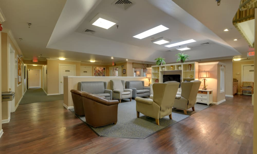 Activity room at Auburn Creek Senior Living in Cape Girardeau, Missouri