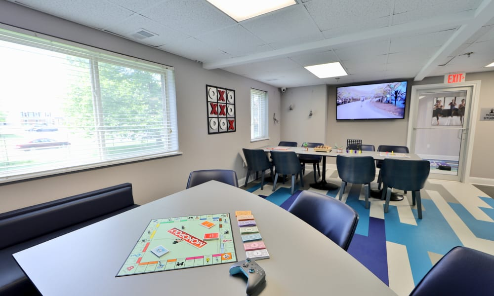 Game Room at Villages at Montpelier Apartment Homes in Laurel, Maryland