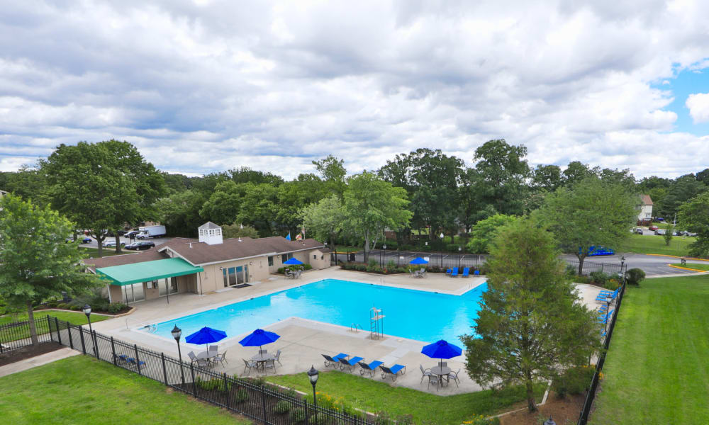 Our Apartments in Laurel, Maryland offer a Swimming Pool