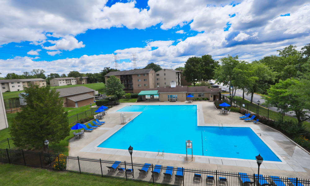 Swimming Pool at Villages at Montpelier Apartment Homes in Laurel, Maryland