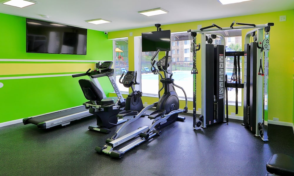 Enjoy a Gym at Montgomery Trace Apartment Homes in Silver Spring, Maryland