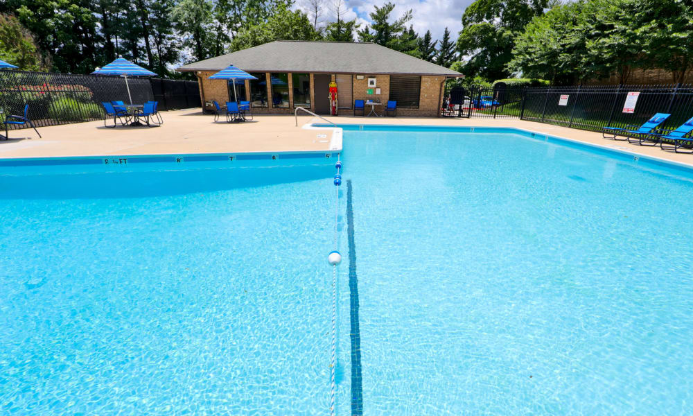 Enjoy a Swimming Pool at Montgomery Trace Apartment Homes in Silver Spring, Maryland