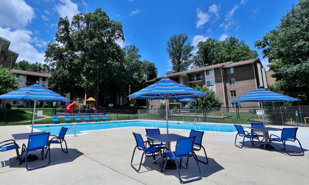 Swimming Pool at Montgomery Trace Apartment Homes in Silver Spring, Maryland