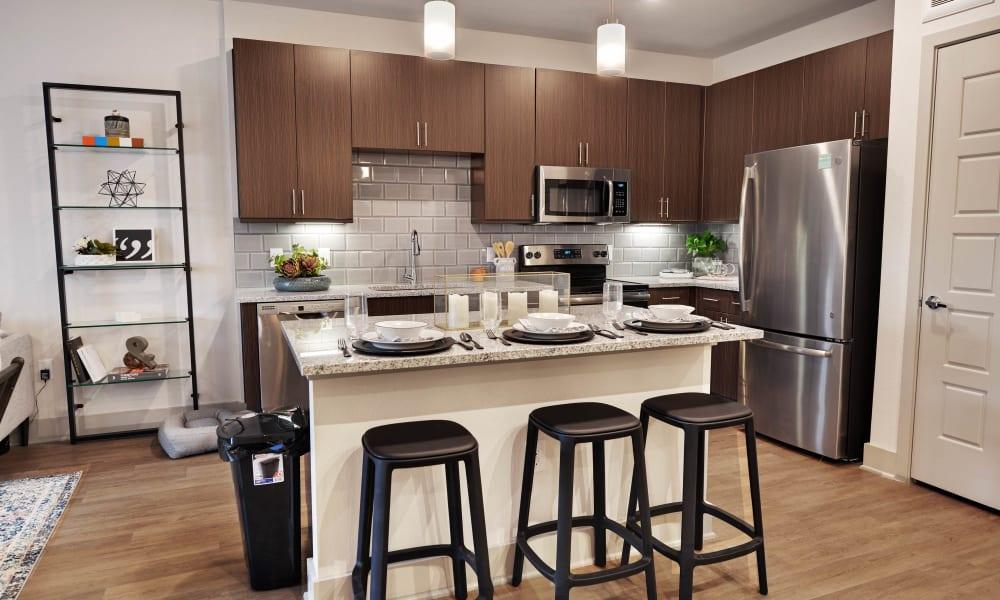 Kitchen at Alta Tech Ridge in Austin, Texas