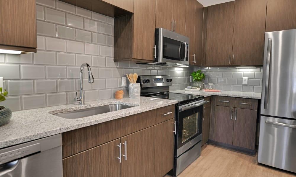 Alta Tech Ridge offers a Kitchen in Austin, Texas
