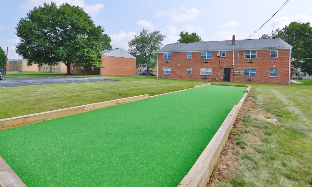 Putting Green at Camp Hill Apartment Homes in Camp Hill, Pennsylvania
