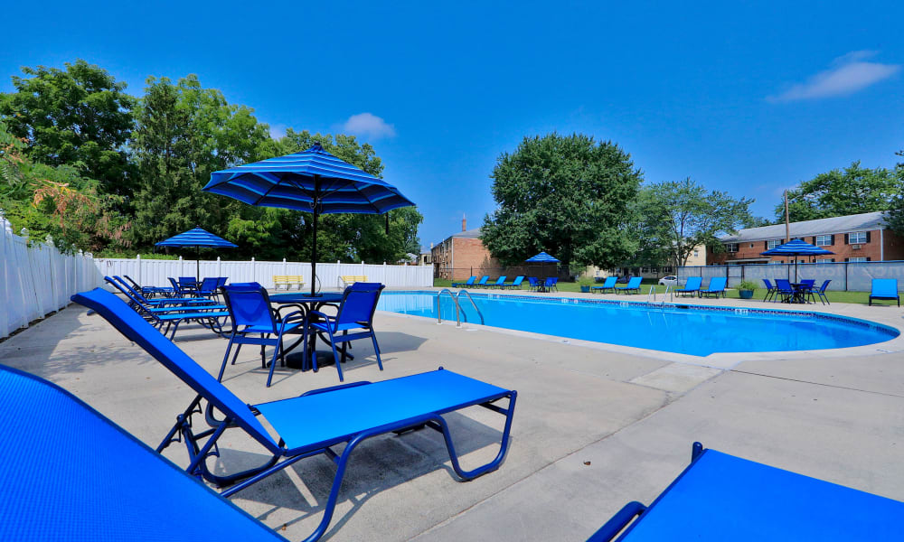 Our Apartments in Camp Hill, Pennsylvania offer a Swimming Pool