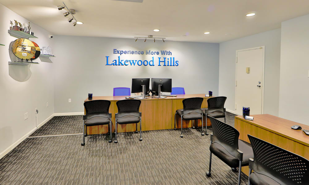 Leasing Office at Lakewood Hills Apartments & Townhomes in Harrisburg, Pennsylvania