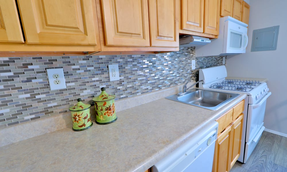 Kitchen at Townhomes in Baltimore, MD