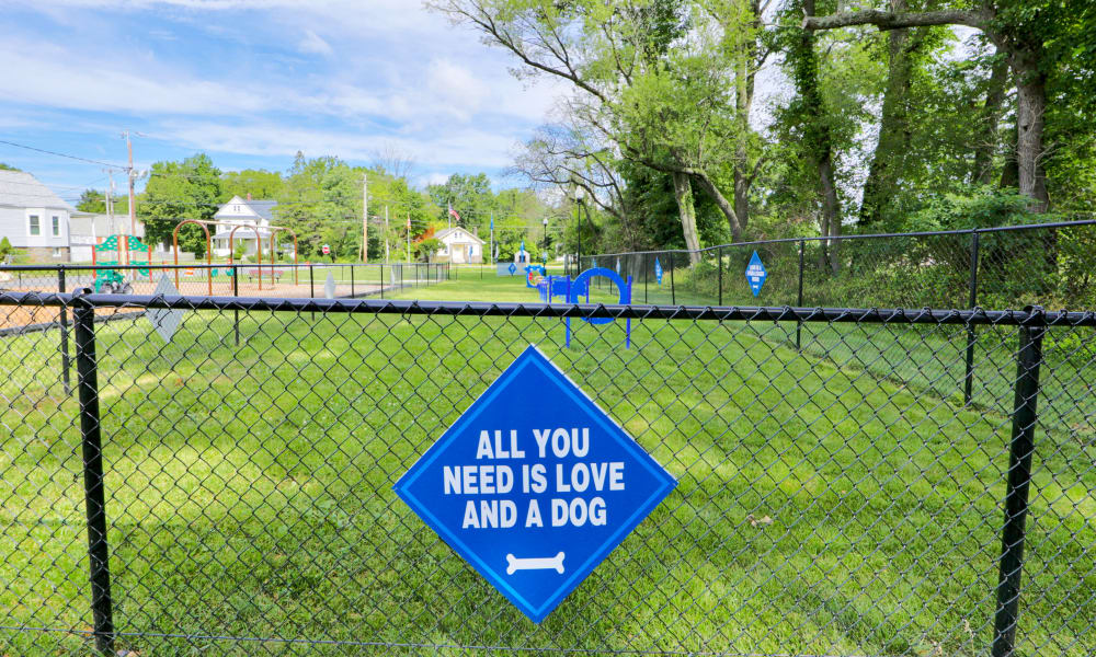 Enjoy Townhomes with a Dog Park at Gwynnbrook Townhomes