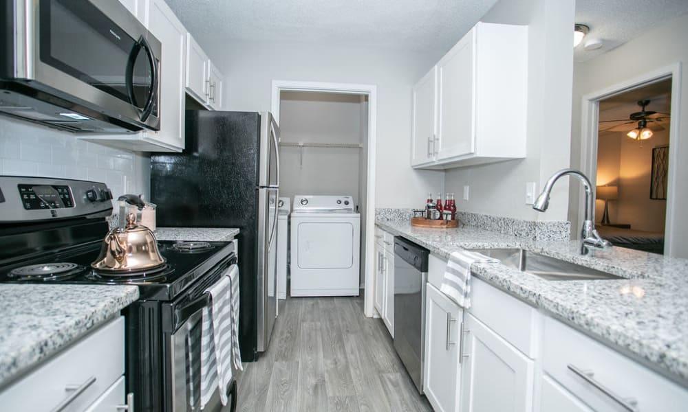 Enjoy our Modern Apartments Kitchen at The Pointe at Preston Ridge
