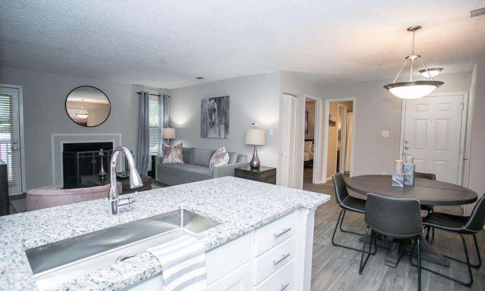 Our Beautiful Apartments in Alpharetta, Georgia showcase a Kitchen