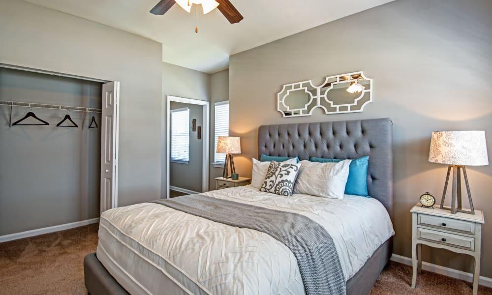 Bedroom at The Flats @ 55 Twelve in Durham, North Carolina