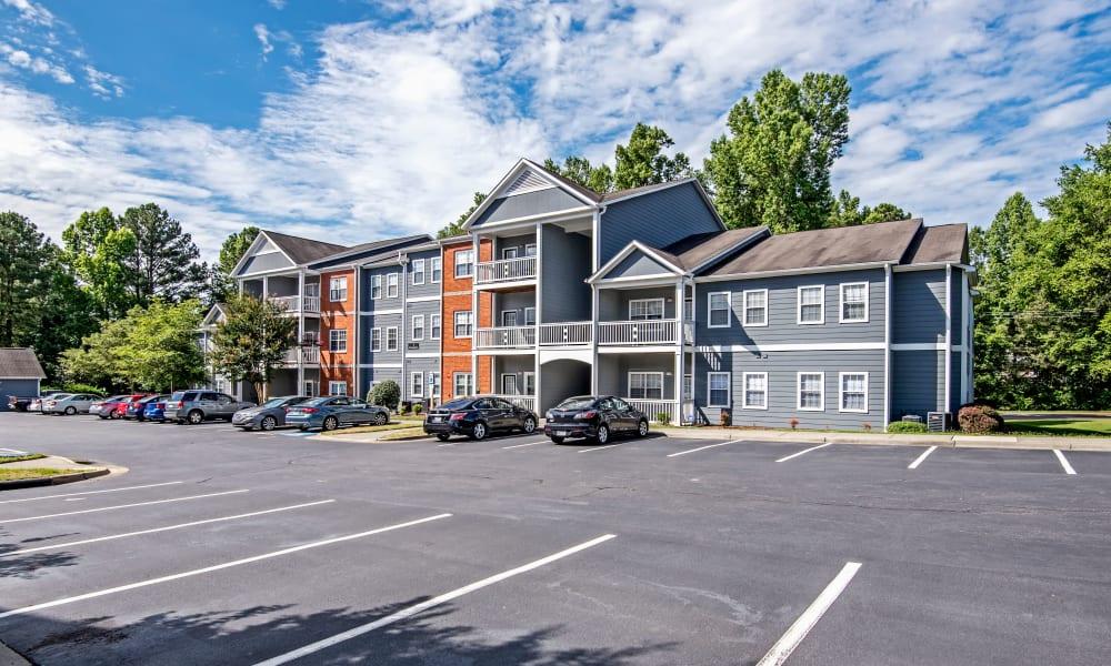 Great parking at The Flats @ 55 Twelve in Durham, North Carolina