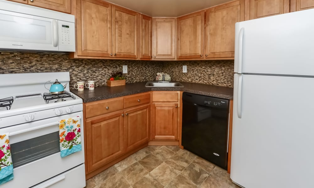 Kitchen at Forge Gate Apartment Homes in Lansdale, PA