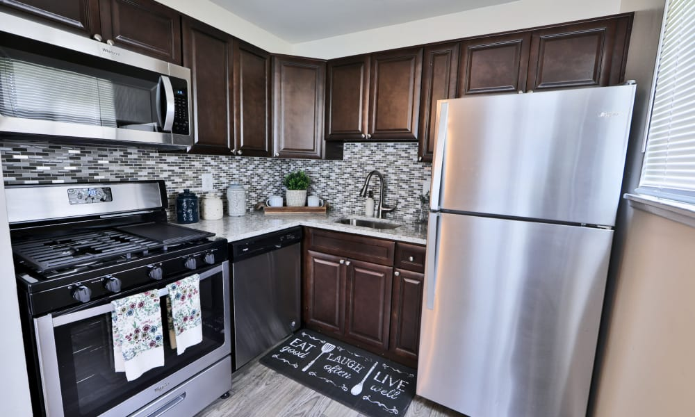 Kitchen at Charlesmont Apartment Homes in Dundalk, Maryland