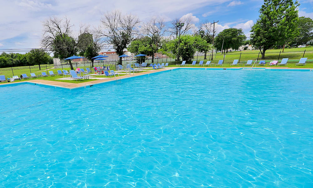 Swimming Pool at Charlesmont Apartment Homes in Dundalk, Maryland