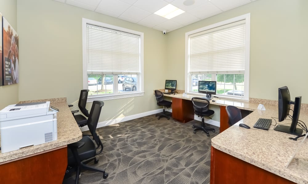 Business Center at Stonegate at Devon Apartments in Devon, Pennsylvania