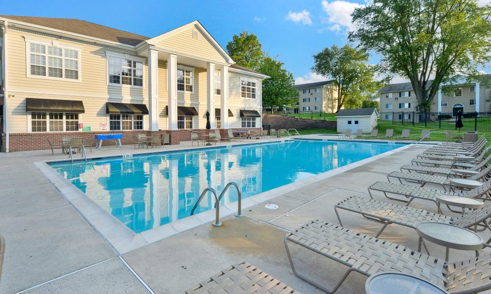 Swimming Pool at Stonegate at Devon Apartments in Devon, Pennsylvania