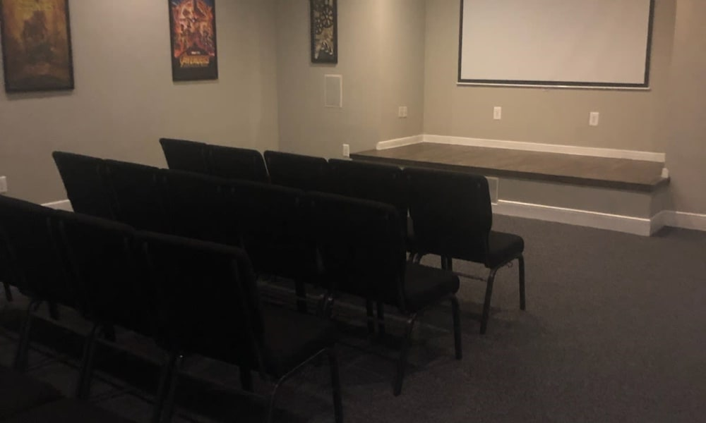 Our Apartments in Katy, Texas offer a Movie Theater Room