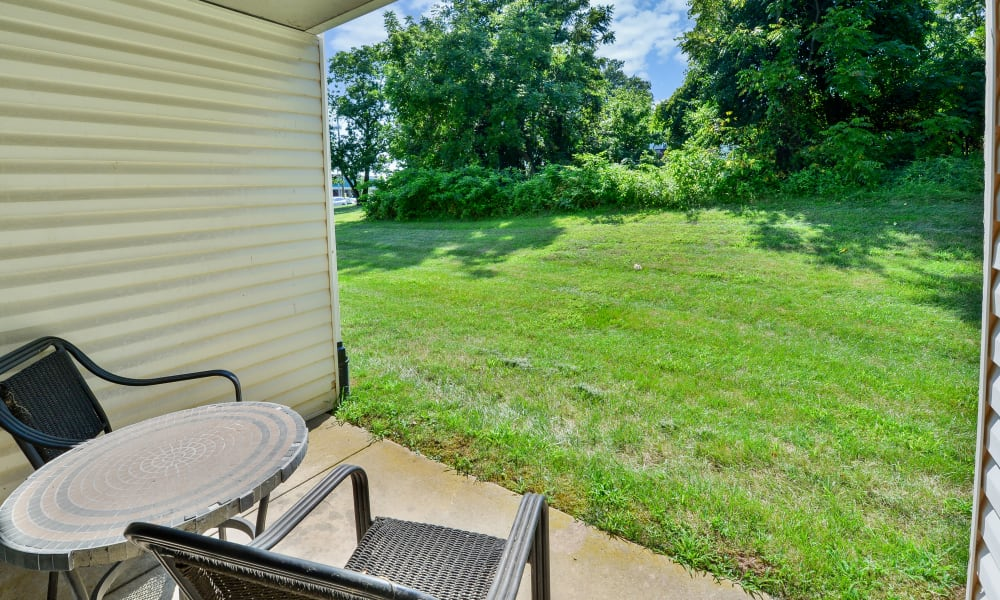 Our Apartments in Jeffersonville, Pennsylvania offer a Private Patios