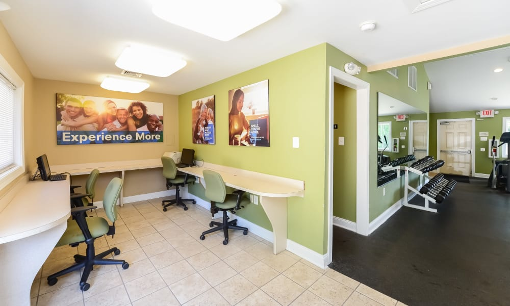 Rental Office at Willowbrook Apartments in Jeffersonville, Pennsylvania