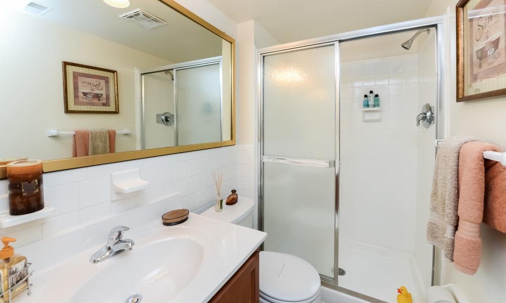Bathroom at Apartments in Jeffersonville, Pennsylvania