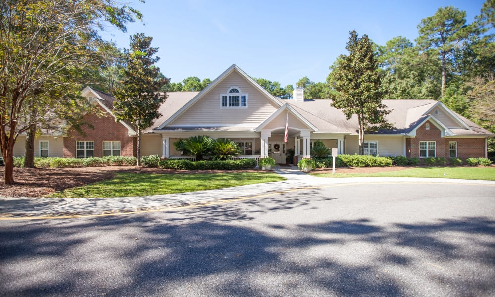 Independent housing at Harbor Cove Memory Care in Hilton Head, South Carolina