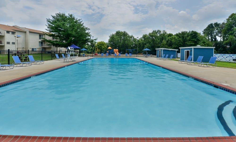 Swimming Pool at Sherwood Crossing Apartments & Townhomes in Philadelphia, Pennsylvania