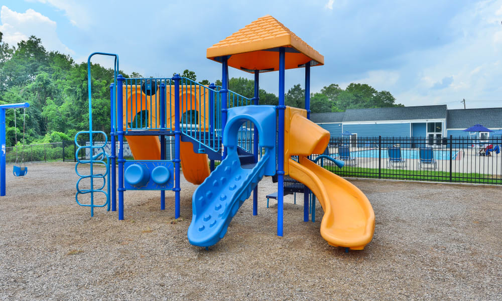 Sherwood Crossing Apartments & Townhomes offers a Playground in Philadelphia, Pennsylvania