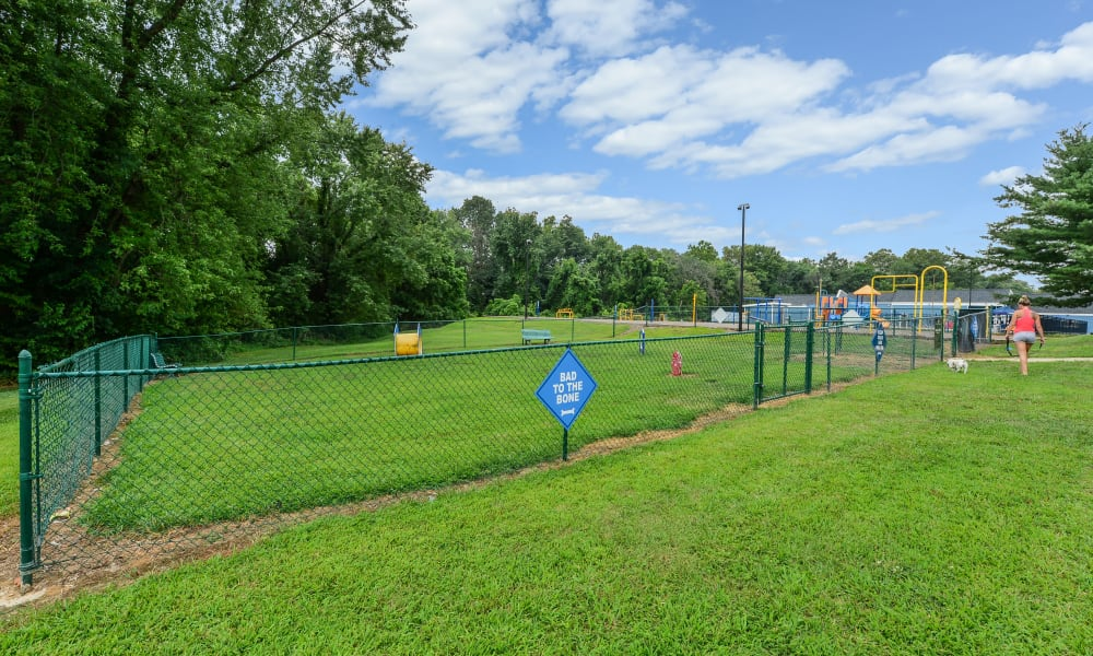 Enjoy Apartments with a Dog Park at Sherwood Crossing Apartments & Townhomes