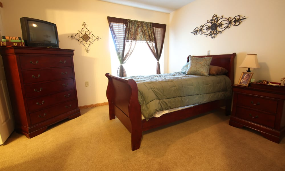 Personal living space at Chandler Place Independent Living in Rock Hill, South Carolina