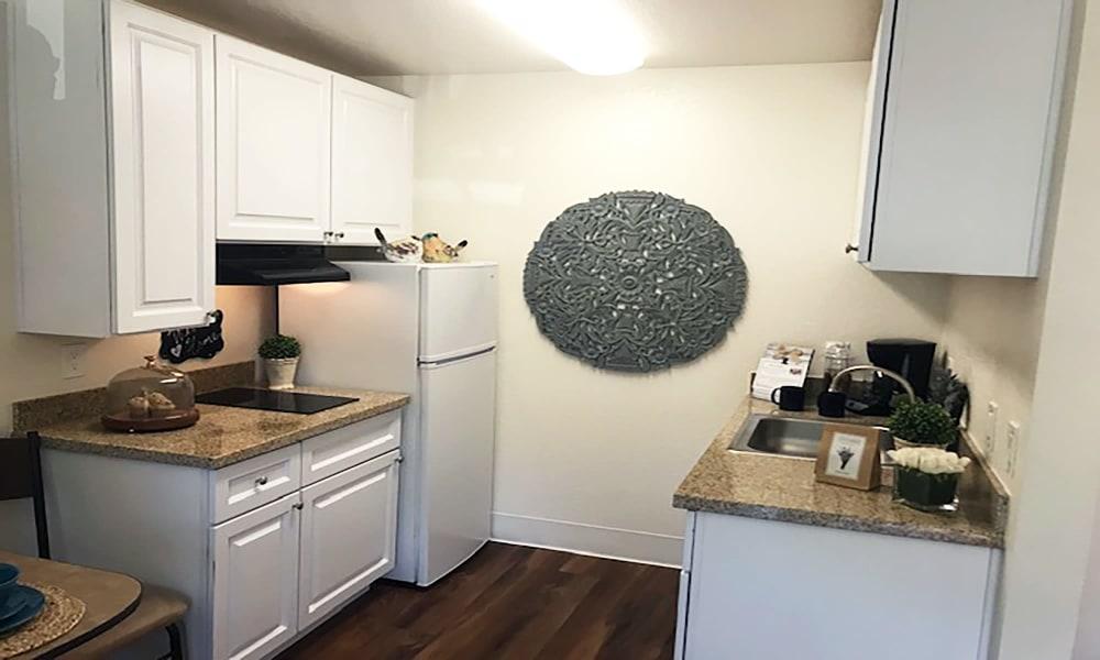 Kitchen at Blossom Vale Senior Living in Orangevale, California