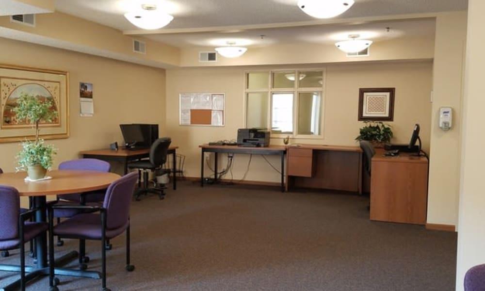 A community center at Parkway Gardens Senior Apartment Community in Saint Paul, Minnesota