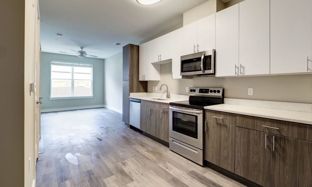 Fenton Silver Spring in Silver Spring, Maryland offers a kitchen
