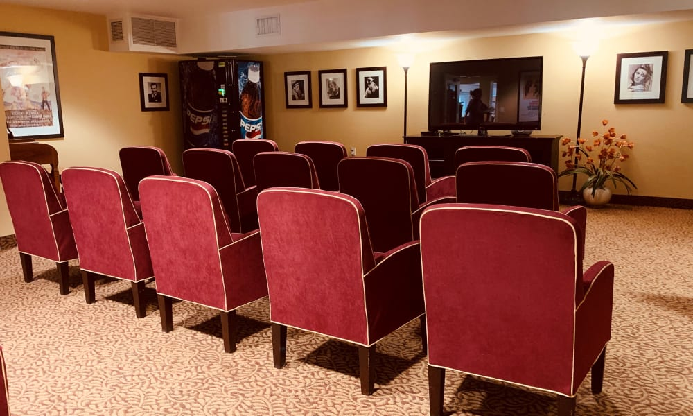 Theater at Maple Ridge Senior Living