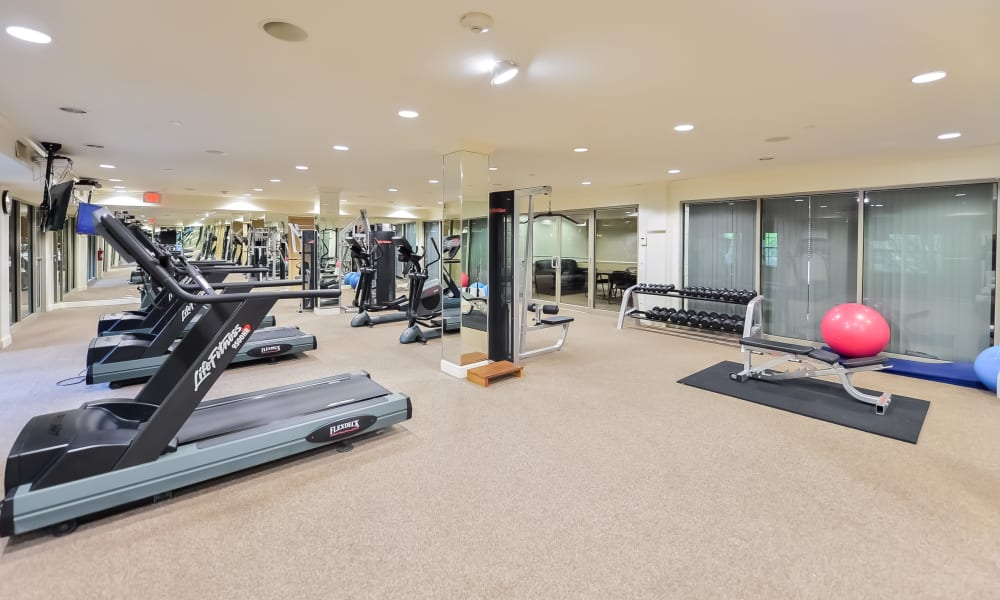 Our Apartments in Franklin Lakes, New Jersey offer a Fitness Center