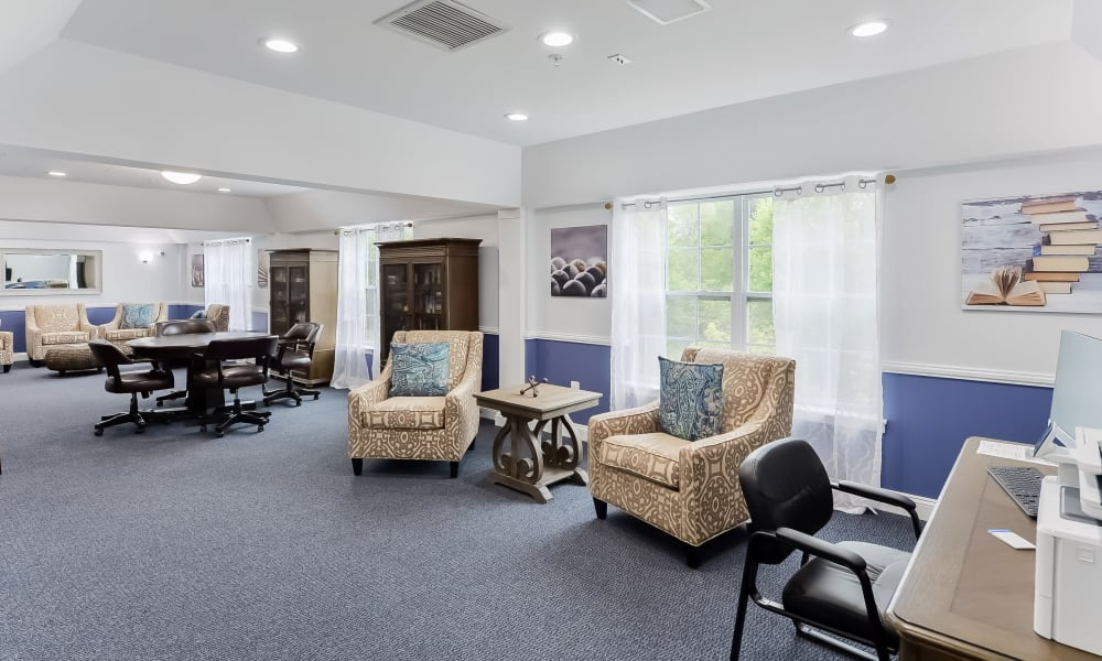 Our Apartments in Franklin Lakes, New Jersey offer a Clubhouse