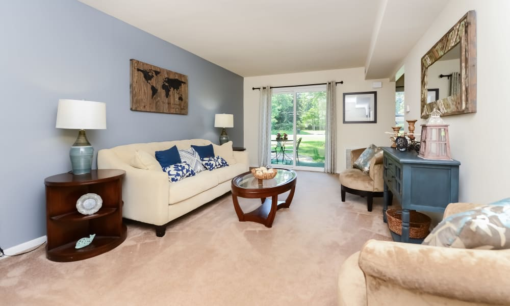 Our Apartments in Eastampton, New Jersey offer Spacious Living Rooms