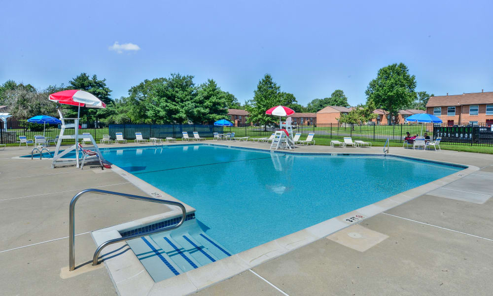 Enjoy Apartments with a Swimming Pool at Sherwood Village Apartment & Townhomes